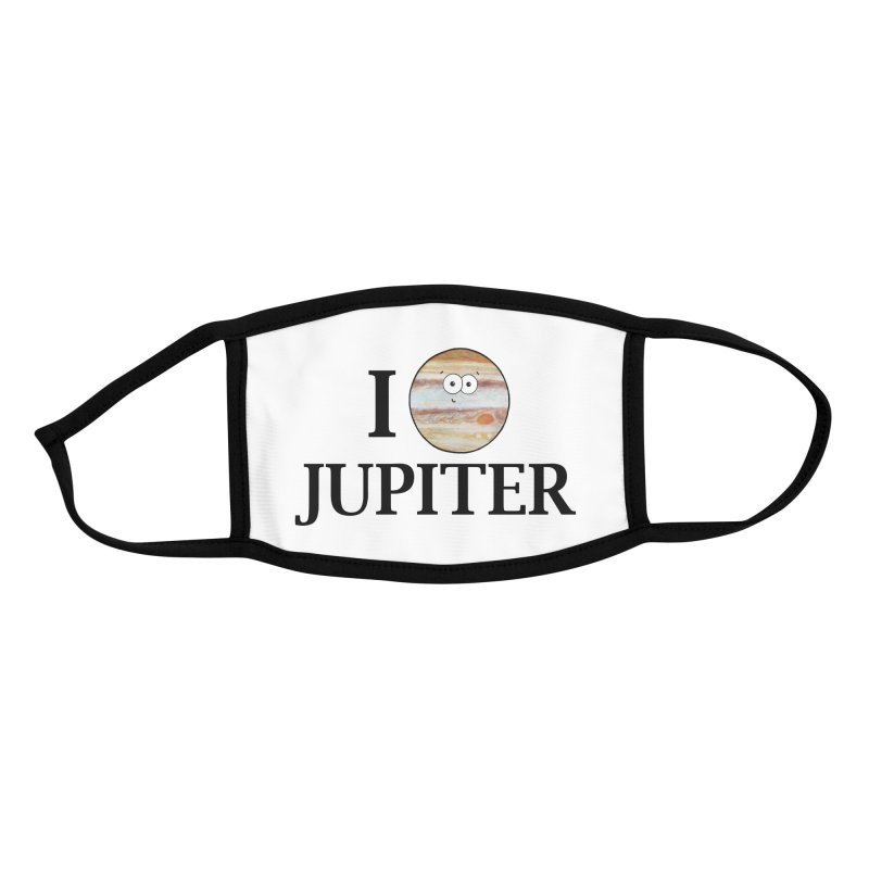 I Heart Jupiter Accessories Face Mask by Adrienne Body