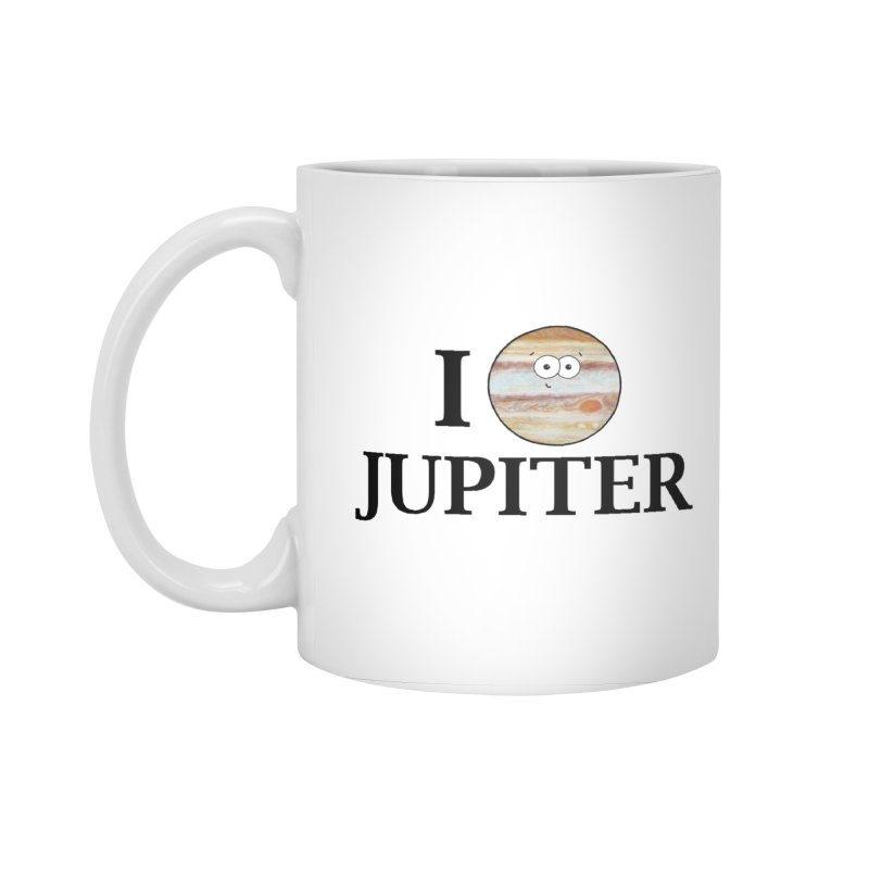 I Heart Jupiter Accessories Standard Mug by Adrienne Body