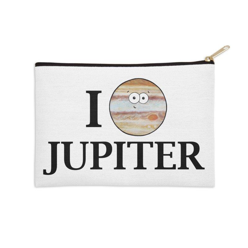 I Heart Jupiter Accessories Zip Pouch by Adrienne Body