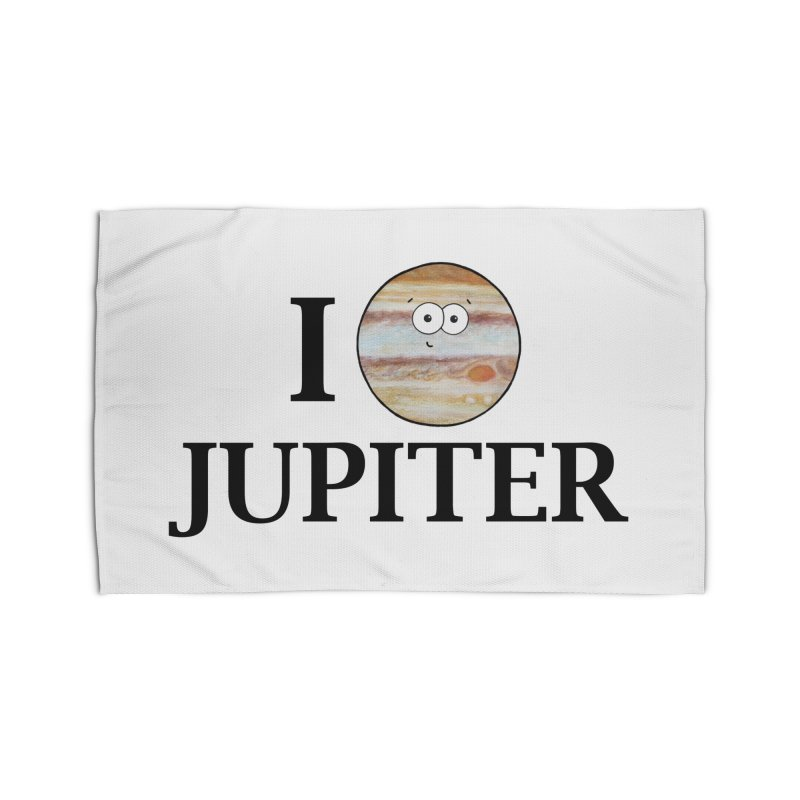 I Heart Jupiter Home Rug by Adrienne Body