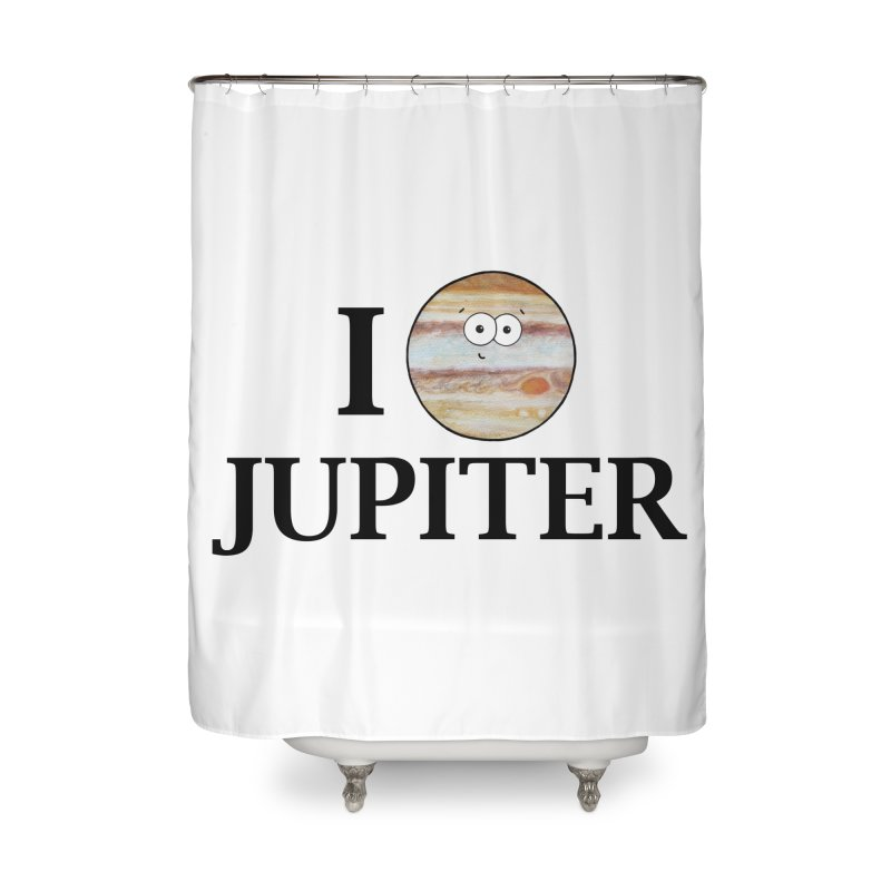 I Heart Jupiter Home Shower Curtain by Adrienne Body