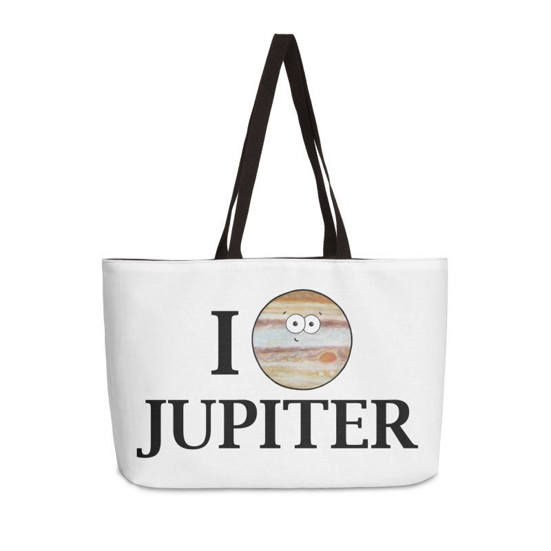 I Heart Jupiter Accessories Weekender Bag Bag by Adrienne Body