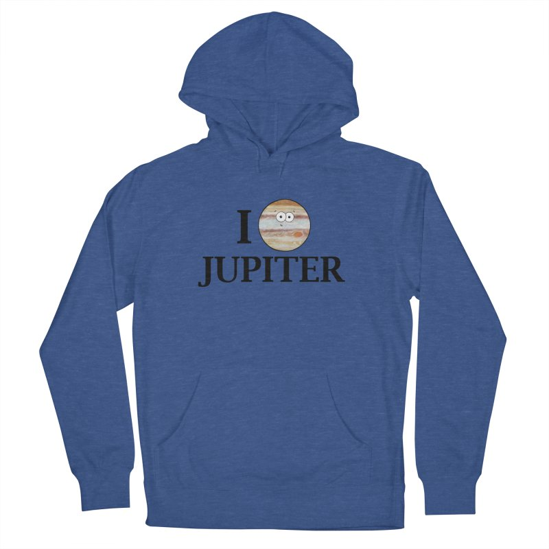 I Heart Jupiter Women's French Terry Pullover Hoody by Adrienne Body