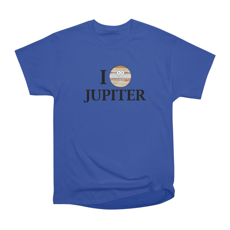 I Heart Jupiter Women's Heavyweight Unisex T-Shirt by Adrienne Body