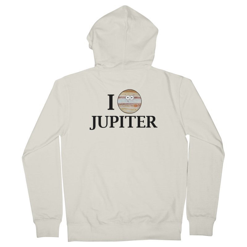 I Heart Jupiter Women's French Terry Zip-Up Hoody by Adrienne Body