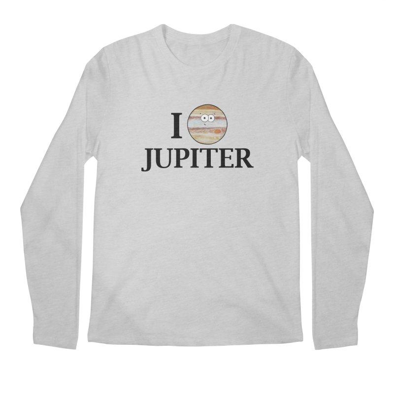I Heart Jupiter Men's Regular Longsleeve T-Shirt by Adrienne Body