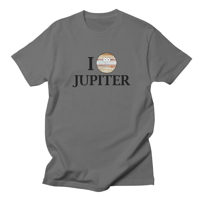 I Heart Jupiter Men's T-Shirt by Adrienne Body