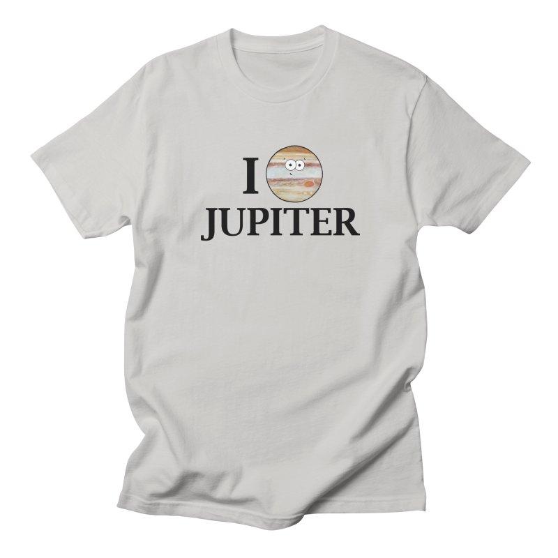 I Heart Jupiter Men's Regular T-Shirt by Adrienne Body