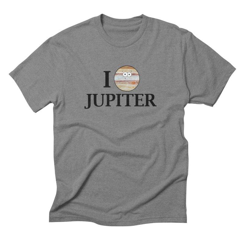 I Heart Jupiter Men's Triblend T-Shirt by Adrienne Body