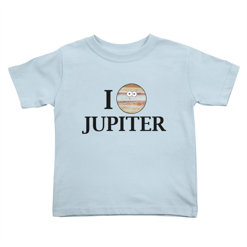 I Heart Jupiter Kids Toddler T-Shirt by Adrienne Body