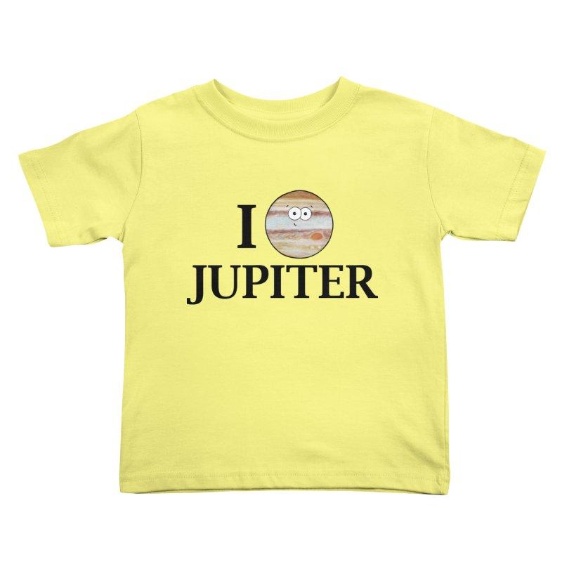 I Heart Jupiter Kids Toddler T-Shirt by Adrienne Body