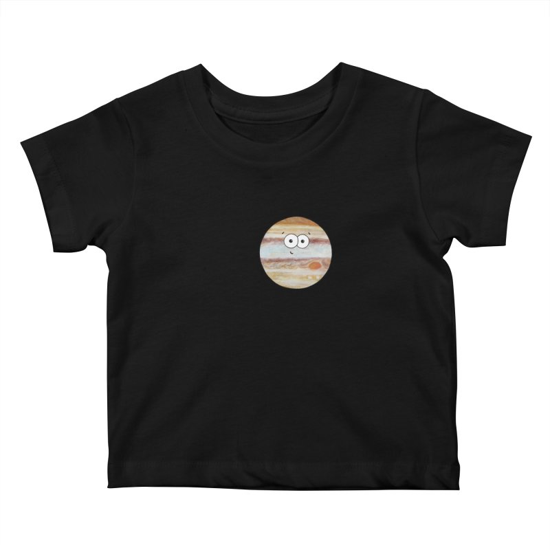 I Heart Jupiter Kids Baby T-Shirt by Adrienne Body