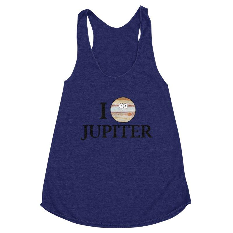 I Heart Jupiter Women's Racerback Triblend Tank by Adrienne Body