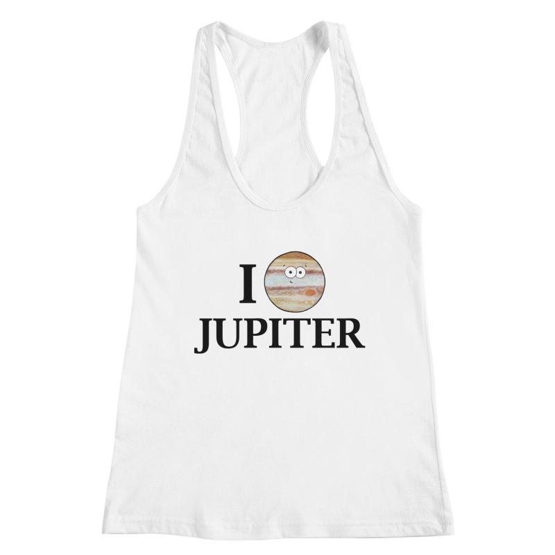 I Heart Jupiter Women's Racerback Tank by Adrienne Body