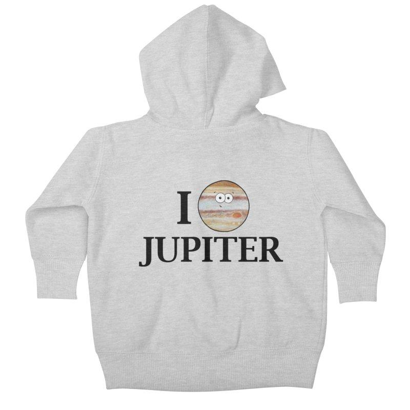 I Heart Jupiter Kids Baby Zip-Up Hoody by Adrienne Body