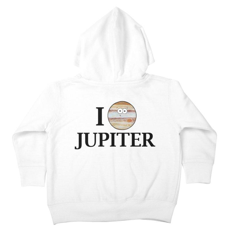 I Heart Jupiter Kids Toddler Zip-Up Hoody by Adrienne Body