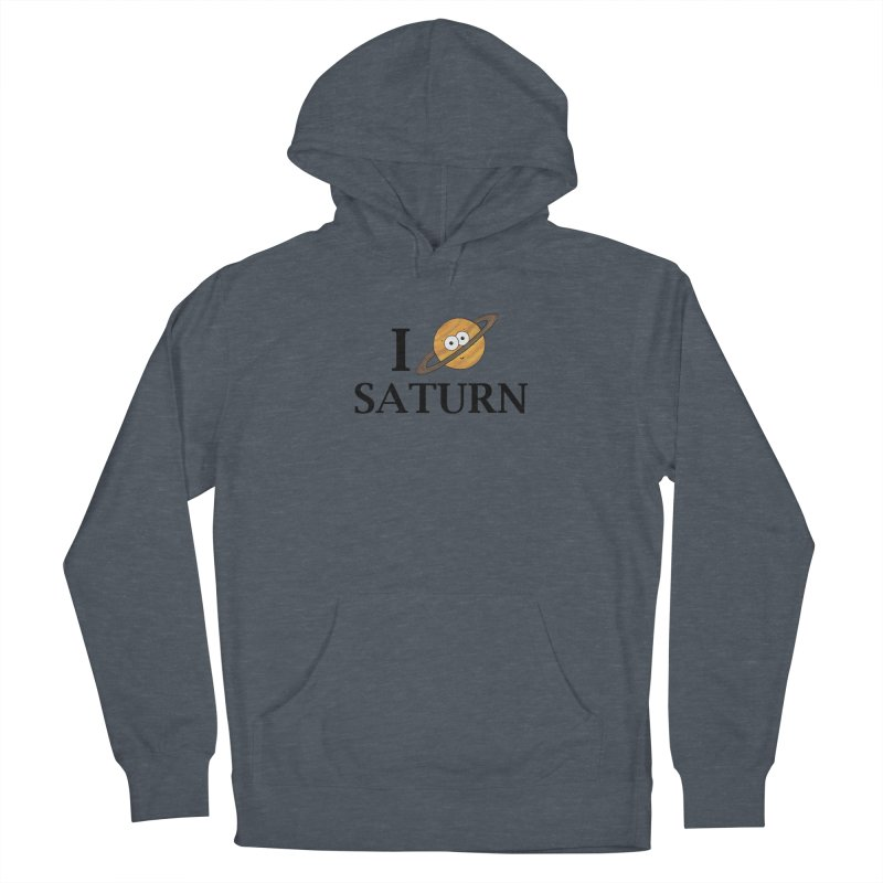 I Heart Saturn Women's French Terry Pullover Hoody by Adrienne Body