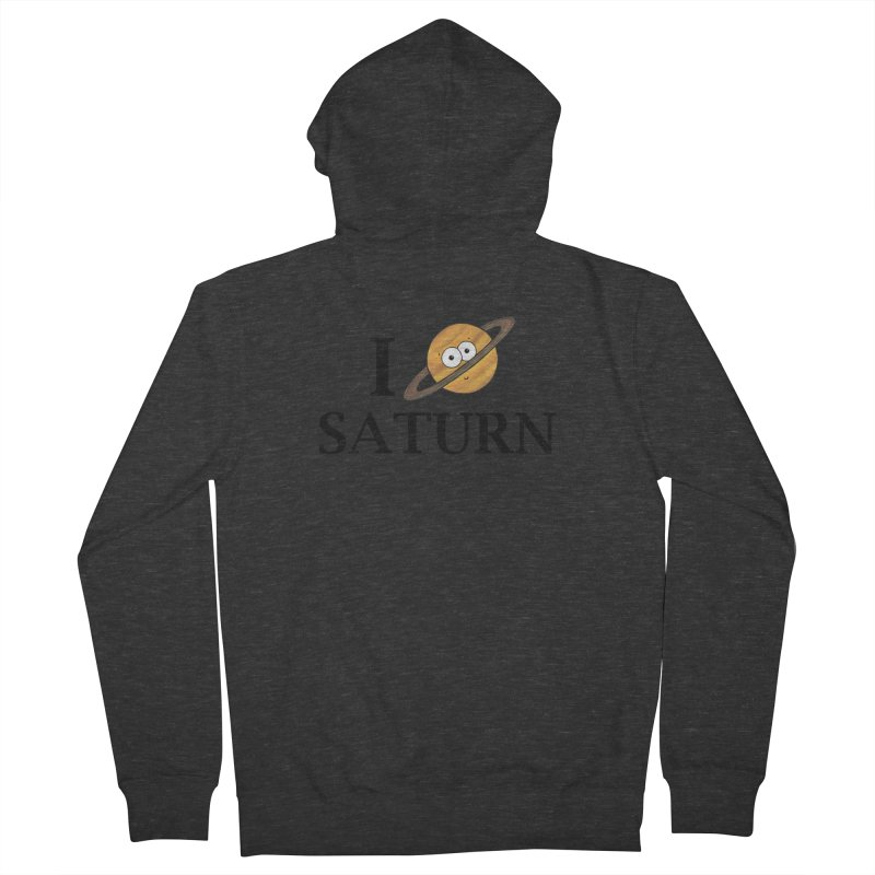 I Heart Saturn Women's French Terry Zip-Up Hoody by Adrienne Body