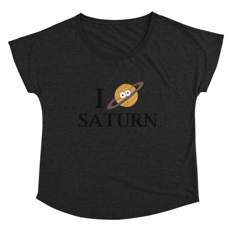 I Heart Saturn Women's Dolman Scoop Neck by Adrienne Body