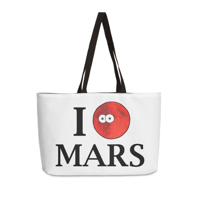 I Heart Mars Accessories Weekender Bag Bag by Adrienne Body