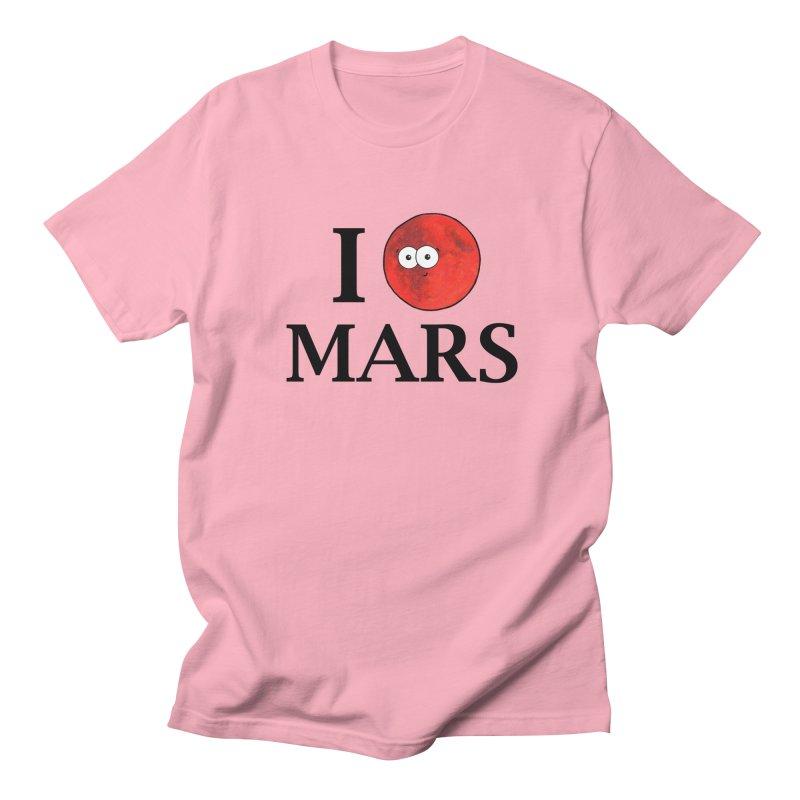 I Heart Mars Women's Regular Unisex T-Shirt by Adrienne Body