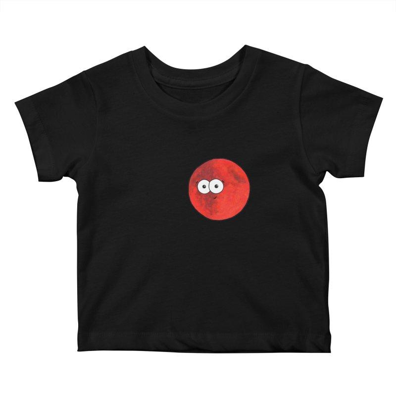 I Heart Mars Kids Baby T-Shirt by Adrienne Body