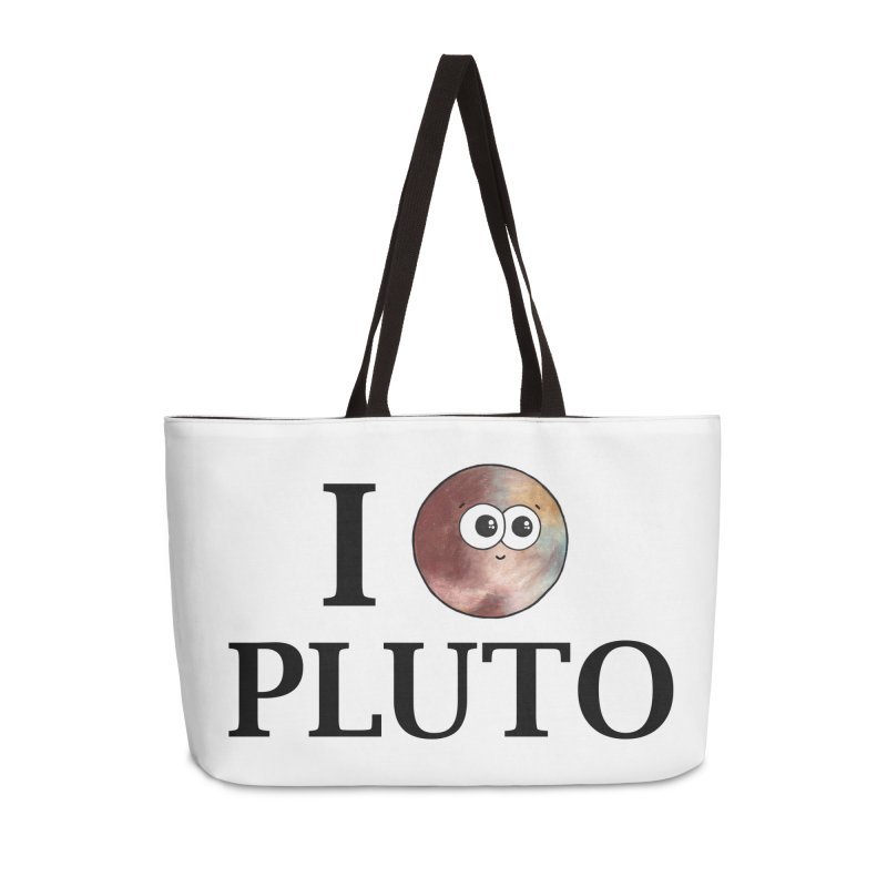 I Heart Pluto Accessories Weekender Bag Bag by Adrienne Body