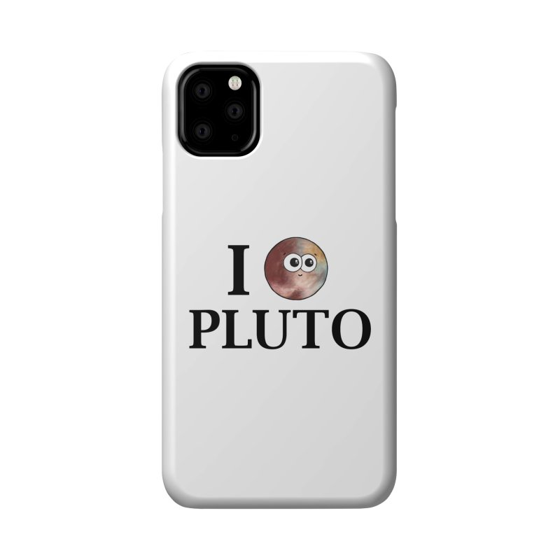 I Heart Pluto Accessories Phone Case by Adrienne Body