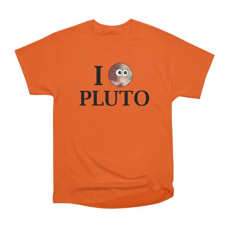 I Heart Pluto Women's T-Shirt by Adrienne Body
