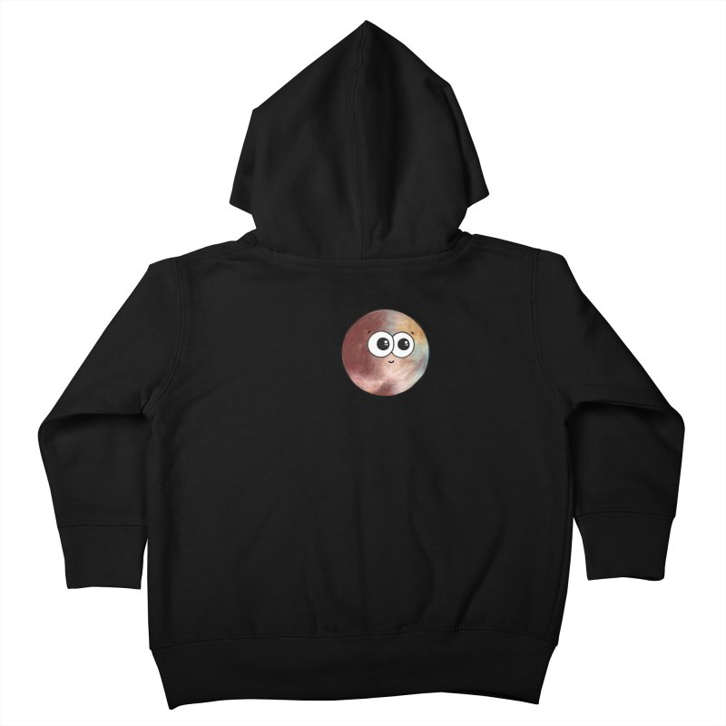 I Heart Pluto Kids Toddler Zip-Up Hoody by Adrienne Body