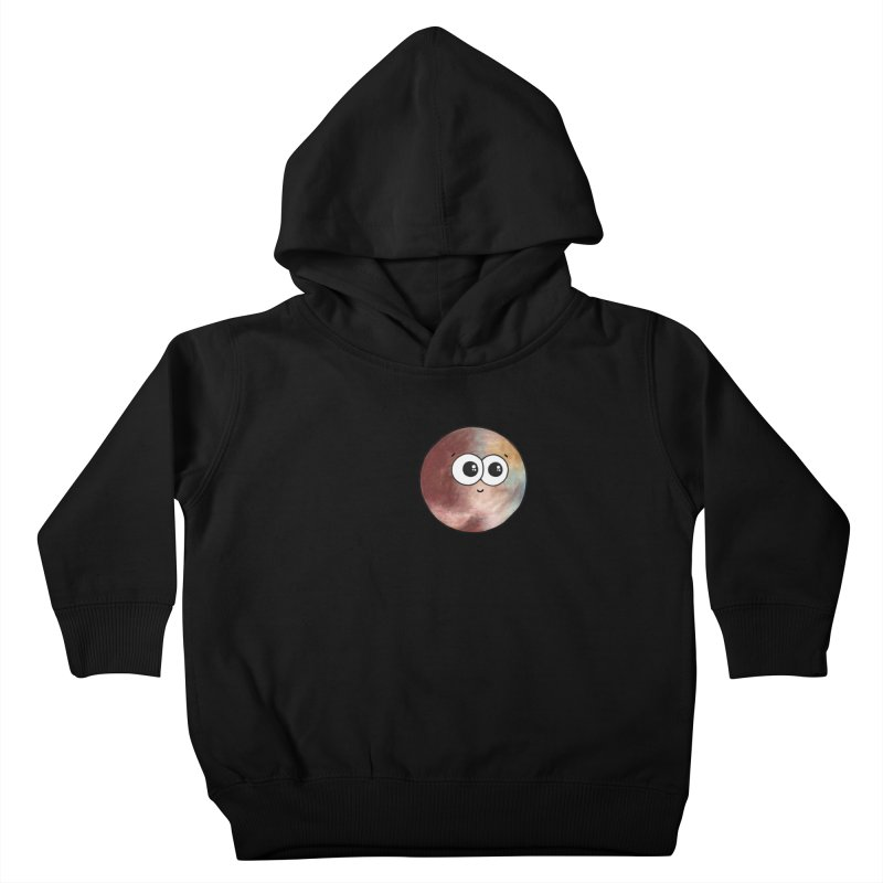 I Heart Pluto Kids Toddler Pullover Hoody by Adrienne Body