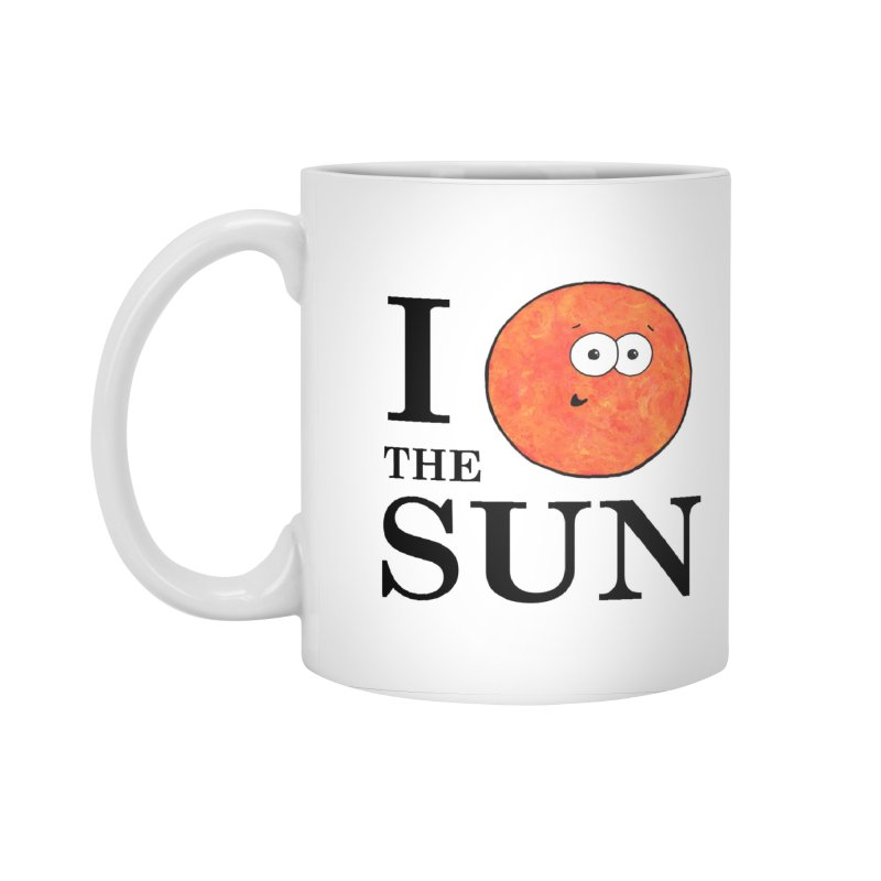 I Heart The Sun Accessories Standard Mug by Adrienne Body