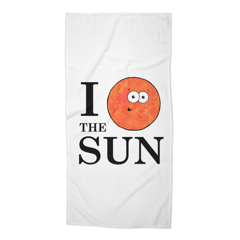 I Heart The Sun Accessories Beach Towel by Adrienne Body