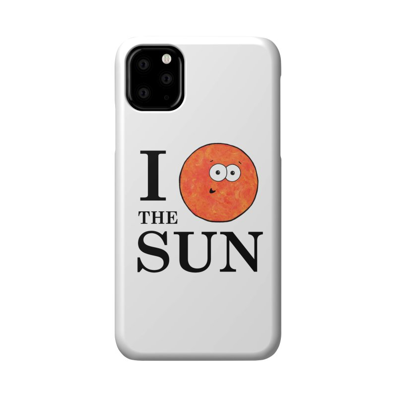 I Heart The Sun Accessories Phone Case by Adrienne Body