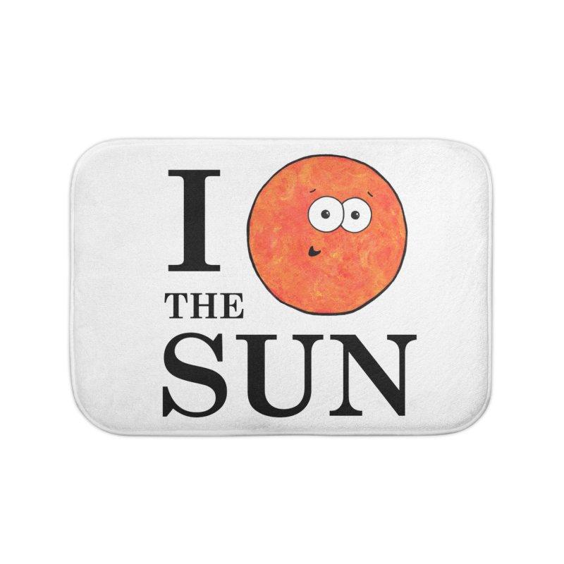 I Heart The Sun Home Bath Mat by Adrienne Body