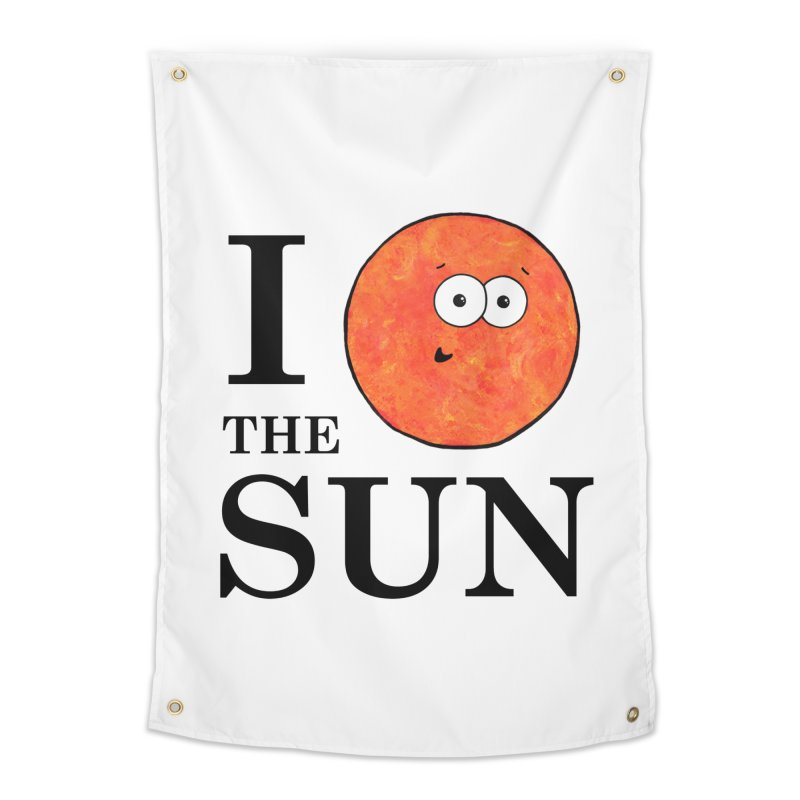 I Heart The Sun Home Tapestry by Adrienne Body