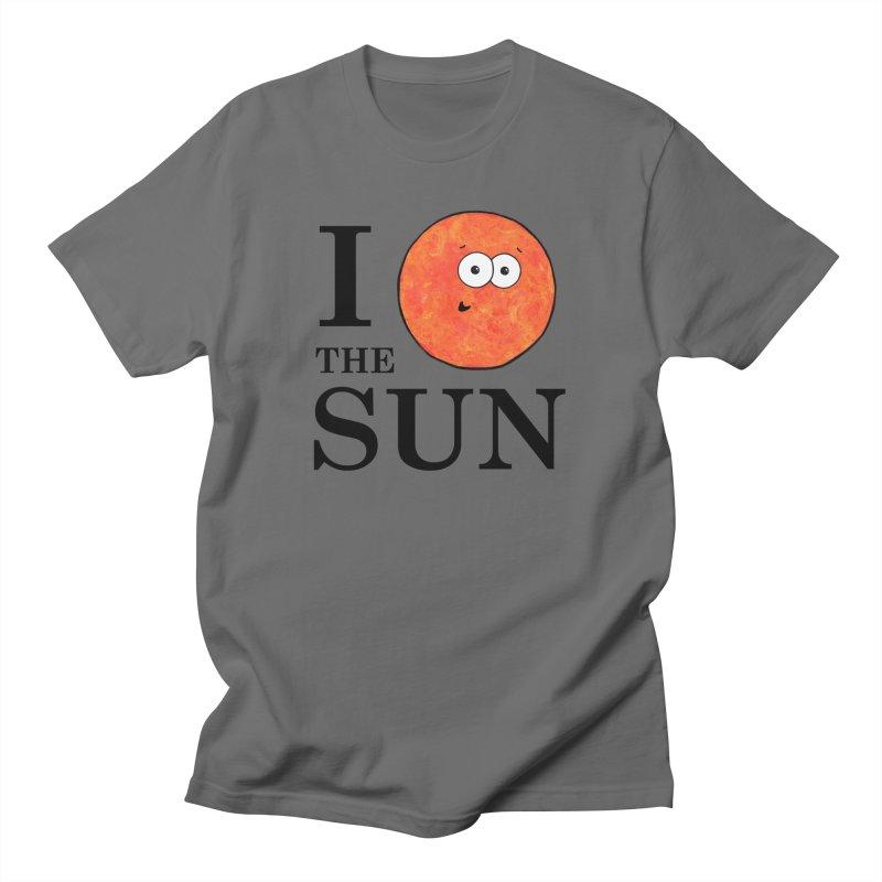 I Heart The Sun Men's T-Shirt by Adrienne Body