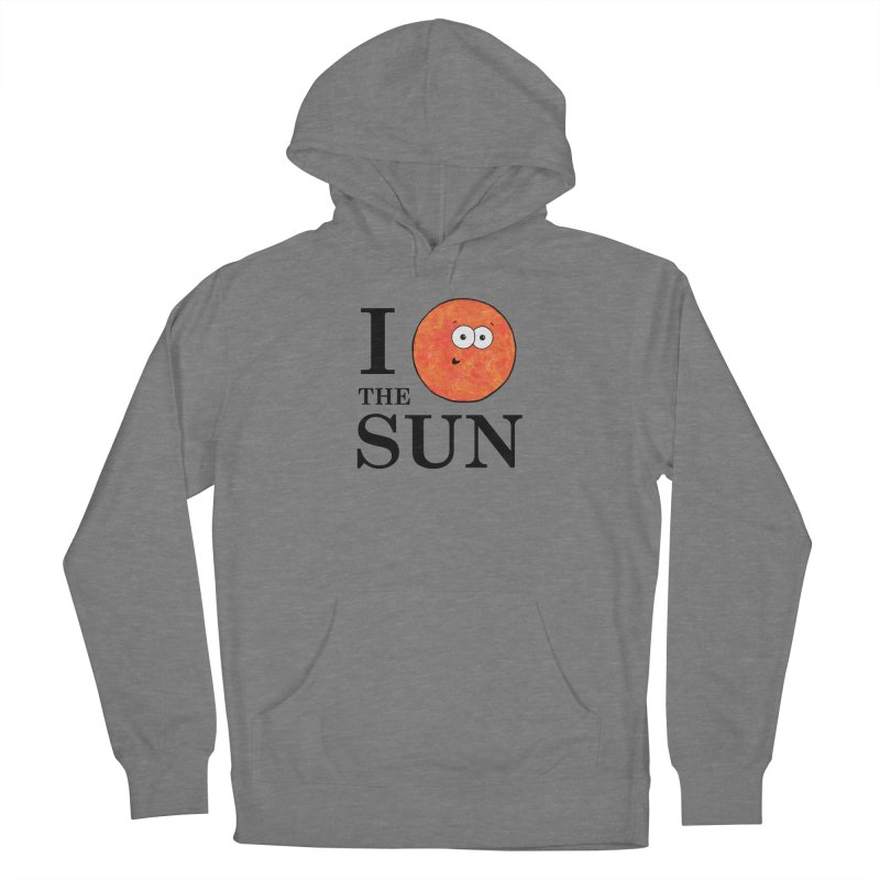 I Heart The Sun Women's French Terry Pullover Hoody by Adrienne Body