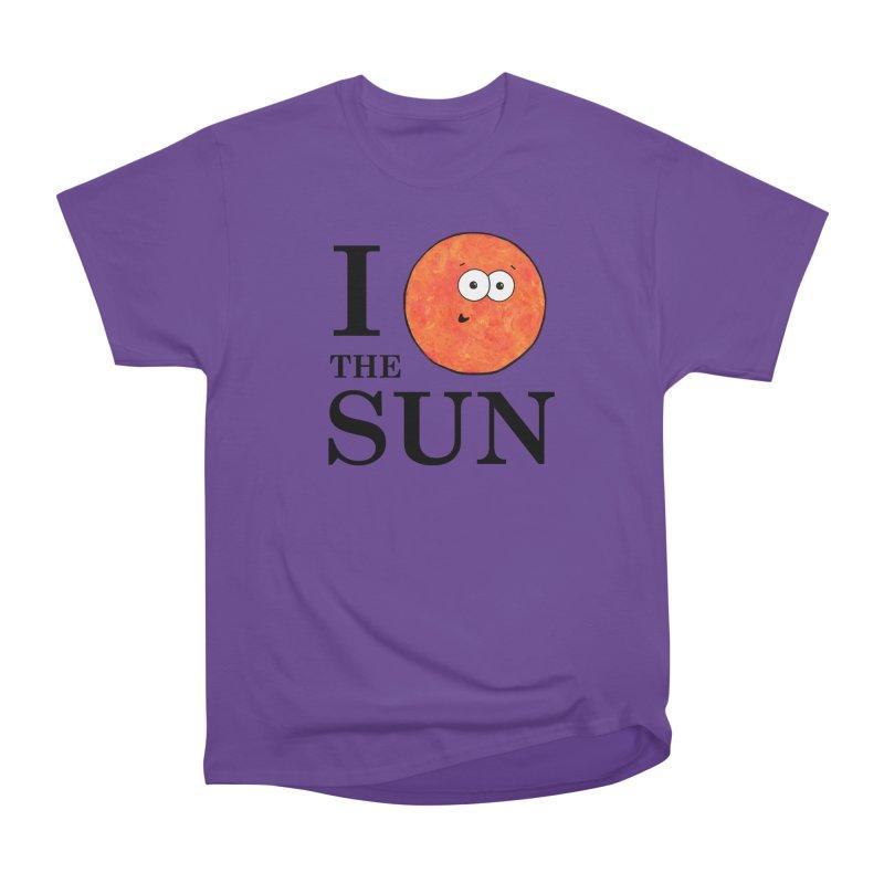 I Heart The Sun Men's Heavyweight T-Shirt by Adrienne Body