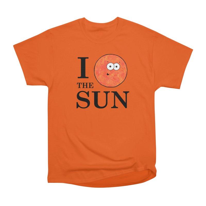 I Heart The Sun Women's T-Shirt by Adrienne Body