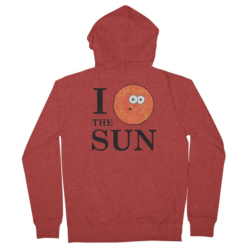 I Heart The Sun Women's French Terry Zip-Up Hoody by Adrienne Body
