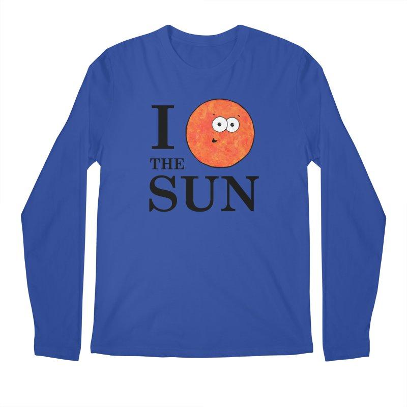 I Heart The Sun Men's Regular Longsleeve T-Shirt by Adrienne Body