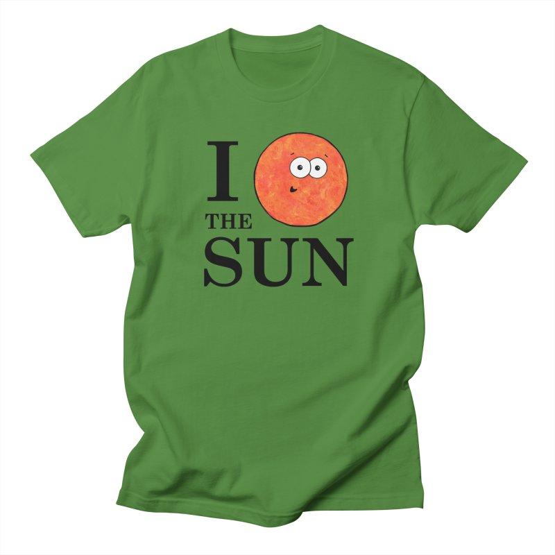 I Heart The Sun Women's Regular Unisex T-Shirt by Adrienne Body