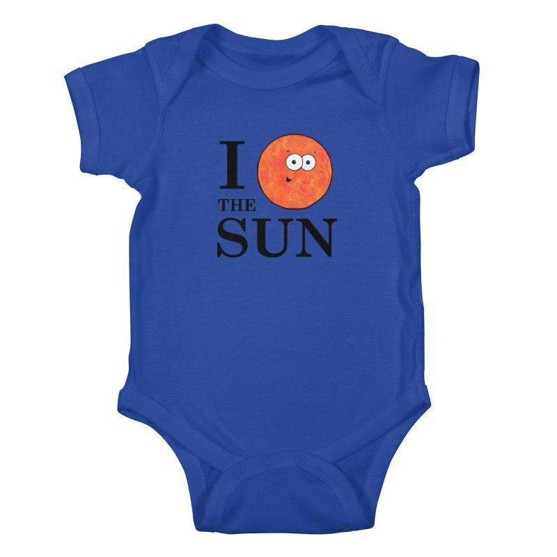 I Heart The Sun Kids Baby Bodysuit by Adrienne Body