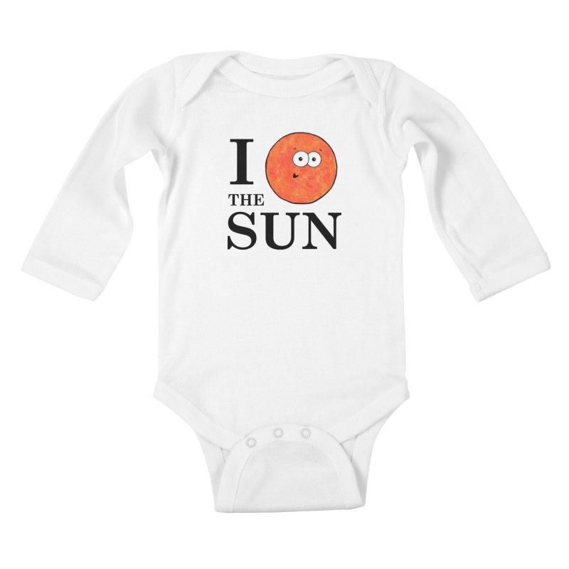 I Heart The Sun Kids Baby Longsleeve Bodysuit by Adrienne Body