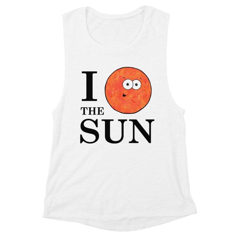 I Heart The Sun Women's Muscle Tank by Adrienne Body