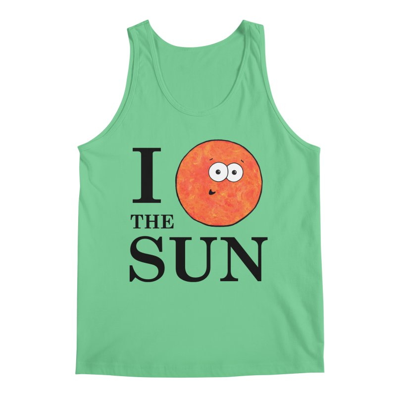 I Heart The Sun Men's Tank by Adrienne Body