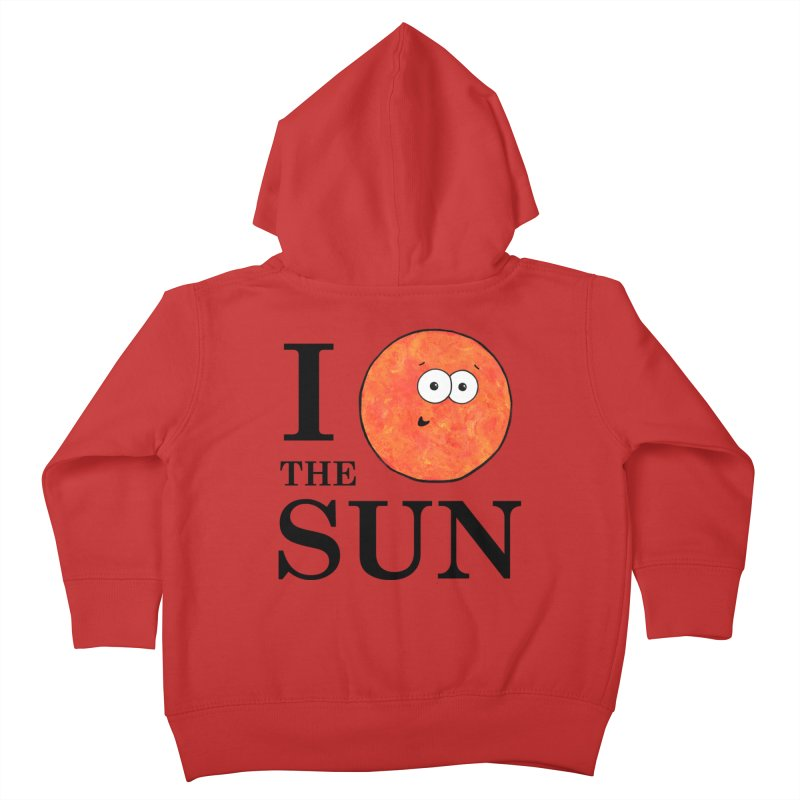 I Heart The Sun Kids Toddler Zip-Up Hoody by Adrienne Body