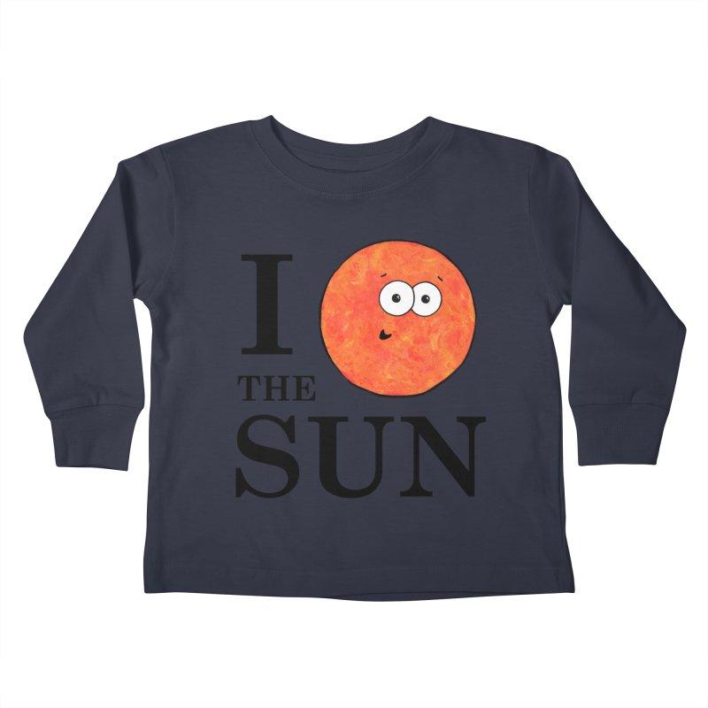 I Heart The Sun Kids Toddler Longsleeve T-Shirt by Adrienne Body