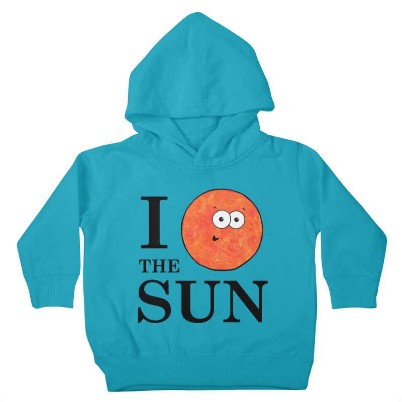 I Heart The Sun Kids Toddler Pullover Hoody by Adrienne Body